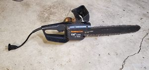 """14"""" electric chainsaw needs oil cap for Sale in Mount Vernon, WA"""