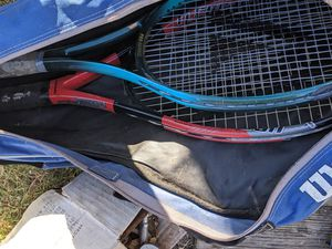 Wilson tennis rackets for Sale in Dallas, TX