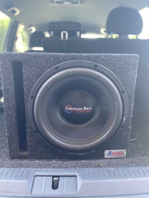 12in subwoofer for Sale in Georgetown, TX