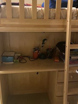 Kids Loft Bed With Study Table for Sale in Redmond,  WA