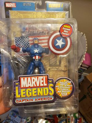 MARVEL Legends series one Captain America for Sale in Humble, TX