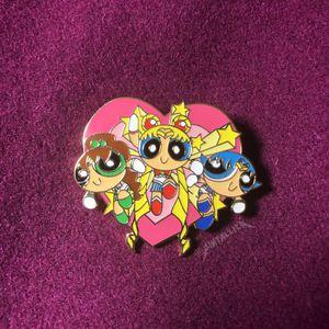 Sailor Moon Powerpuff Girls Hard Enamel Pin for Sale in Los Angeles, CA