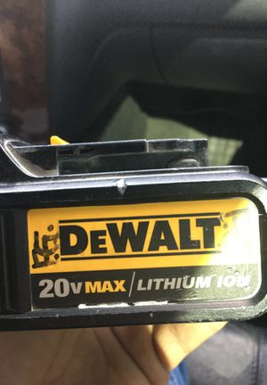 DeWalt battery for Sale in LAKE MATHEWS, CA