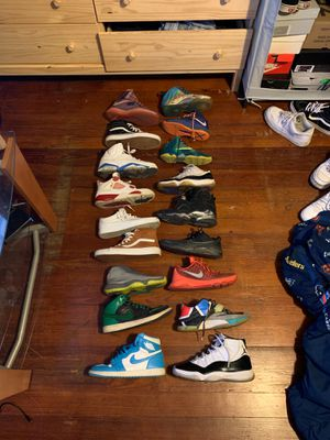 Shoes all for super cheap hmu!! for Sale in Morgantown, WV
