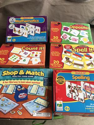 Kids Puzzle board games for Sale in Norwalk, CA