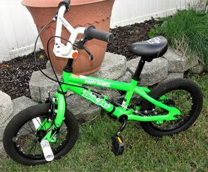 "Tony Hawk .. Park Series .. 14"" Freestyle .. HWK360 Bike. Good pre-owned condition. Bristol Boro, Pa. 19007 PRODUCT FEATURES: Custom Tony Hawk graphi for Sale in Bristol, PA"