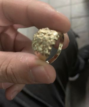 Men's Real 10k gold rings size 10 1/2 for Sale in Dallas, TX