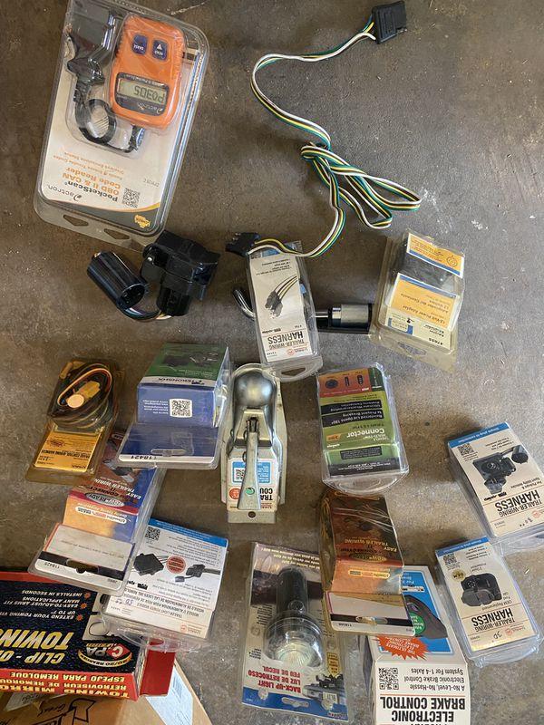 Trailer hitch parts accessories