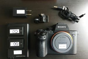 Sony a7 sii. Condition like new with low video mileage. Comes with 2 bat, charger and accessories for Sale in Santa Ana, CA