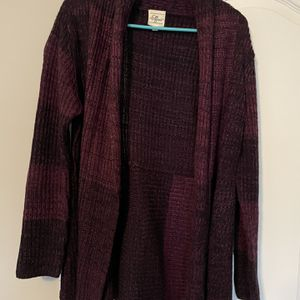 Women's Effect Burgandy and Black Cardigan for Sale in Decatur, GA