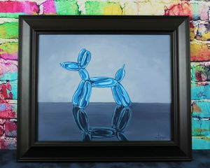 Original Painting Animal Balloon Dog for Sale in Phoenix, AZ