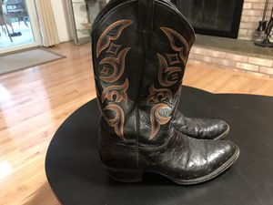 Justin Ostrich Boots for Sale in Centreville, VA