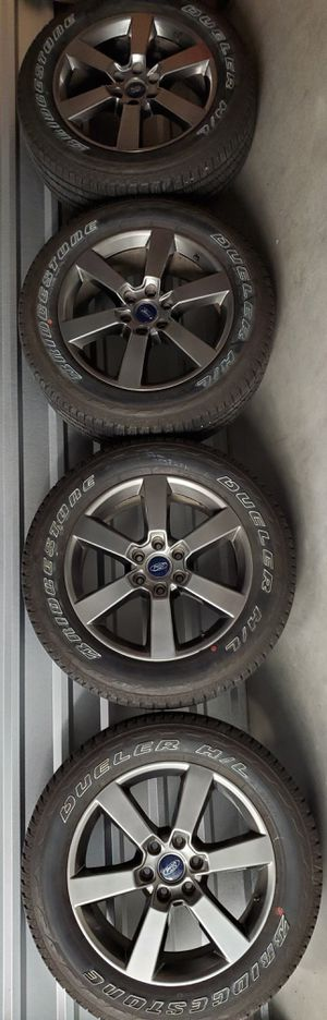 """20"""" Ford F150 rims 20 inch F-150 Expedition wheels for Sale in Humble, TX"""