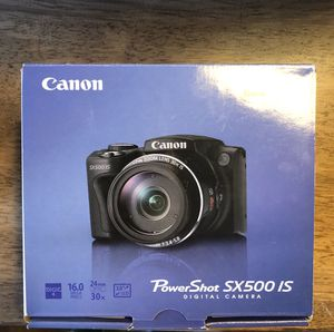 Canon Powershot SX500 IS Digital Camera for Sale in Harrisburg, PA