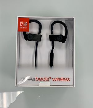 Apple Beats By Dr Dre Powerbeats3 Bluetooth Wireless Earbuds for Sale in Costa Mesa, CA