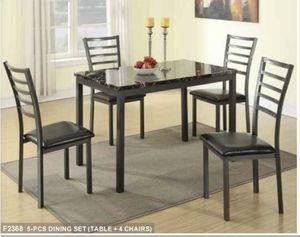 5 PCS BREAKFAST TABLE NEW IN BOX for Sale in Dallas, TX