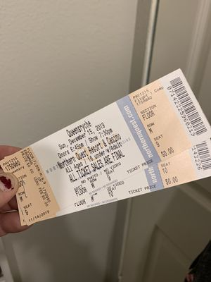2 Queensryche tickets for Sale in Spokane Valley, WA