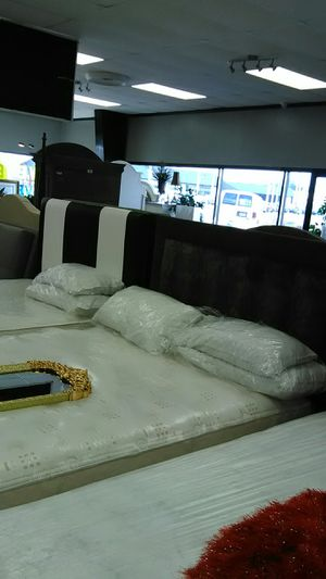 Great bed deals here! Mattress and boxspring deals available for Sale in Indianapolis, IN