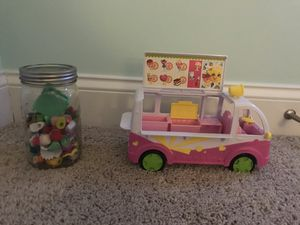 Shopkins Bus and Figures for Sale in Apex, NC