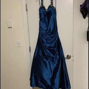 Blue Halter-style Prom Dress for Sale in Seattle, WA
