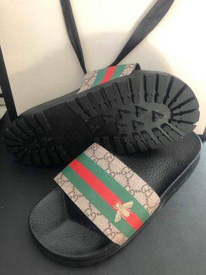 Brand new gucci men slides size 8 9 10 for Sale in Hollywood, FL