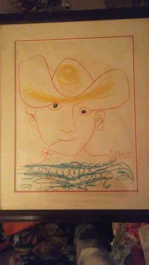Hand drawn 100% authentic Picasso (young spanish peasant) for Sale in Gaithersburg, MD