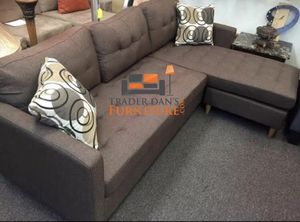 Brand new brown linen sectional sofa for Sale in Silver Spring, MD