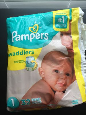 Pampers SIZE 1 for Sale in Miramar, FL