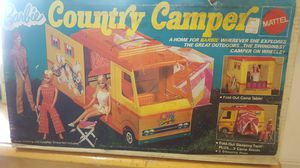 Used, Barbie country camper for Sale for sale  Trenton, NJ
