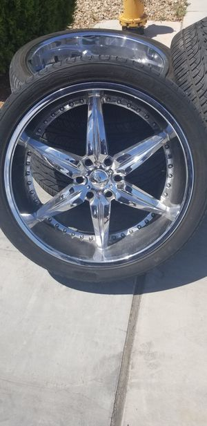 24 inch rims for Sale in North Las Vegas, NV