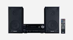 Home Audio Sharp Mini System Bluetooth Speaker Bocina Música XL-HF203B for Sale in Miami, FL
