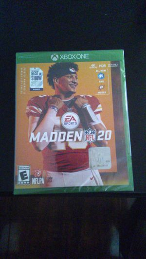 Brand new Madden 20 $50 never been open or used for Sale in Compton, CA