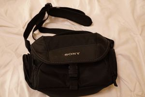 Sony camera case for Sale in Salt Lake City, UT