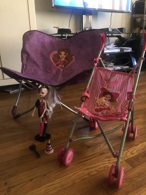 Bratz Chair, Doll, & Stroller for Sale in Bell Gardens, CA