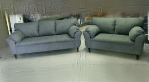 NEW CHARCOAL MICROFIBER COUCHES for Sale in Pomona, CA