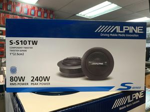 Alpine s-s10tw on sale today message us for the best deals in la today for Sale in Long Beach, CA