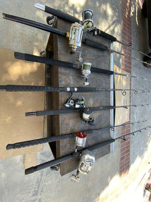 Deep Sea Ocean Fishing Rods and Reels penn okuma pro gear Calstar fenwick for Sale in Oceanside, CA
