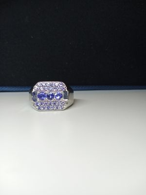 Ring with Blue Gems for Sale in Columbus, OH