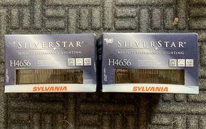 SYLVANIA - H4656 SilverStar Sealed Beam Headlights for Sale in Snohomish, WA