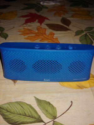 iLuv Wavecast Portable Bluetooth Stereo Speaker for Sale in Philadelphia, PA