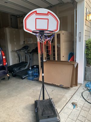 Adjustable kids 🏀 hoop - price reduction for Sale in Milton, WA