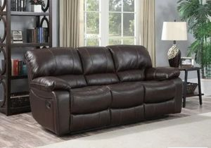 Redfield Leather Reclining Sofa for Sale in West Seneca, NY
