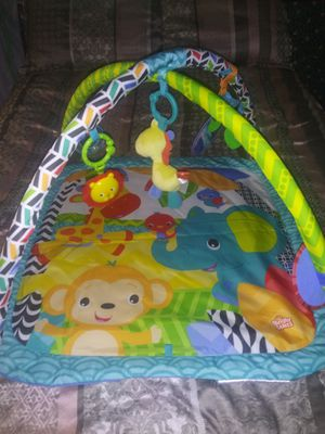 Bright Starts Floor Mat With Toy Bars $5 for Sale in Winter Haven, FL
