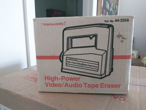 High power Video/audio Tape Eraser for Sale in Cocoa Beach, FL