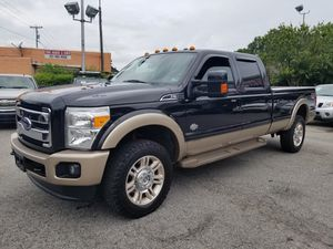 """Ford F350 """"KING RANCH"""" crew cab 6.7L DIESEL 4X4 LOADED for Sale in Virginia Beach, VA"""