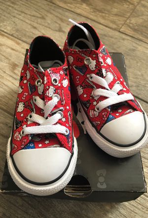 Hello kitty converse for Sale in Bakersfield, CA
