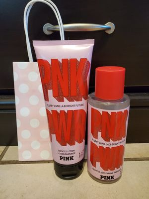 Victoria Secret PINK PINK POWER Lotion & Mist for Sale in Grand Terrace, CA