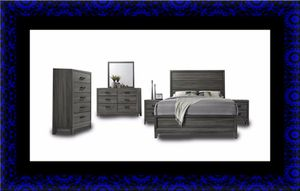 11pc Kate bedroom set with mattress for Sale in Rockville, MD