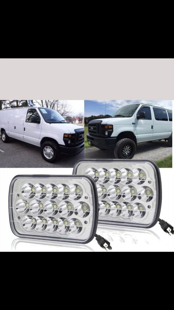 Light 7X6 LED TURBll para ford e250 econoline o e150 chebrolet Express nissan Toyota y muchos otros carros Max serios compradores por favor