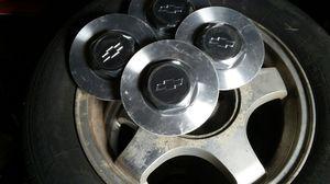 "16"" GM Aluminum Wheels w/ tires for Sale in Saint Paul, MN"